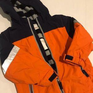Hanna Andersson Fleece lined Winter Coat
